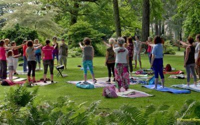Yoga et Bien-être en Plein Air, reprise en juin 2020