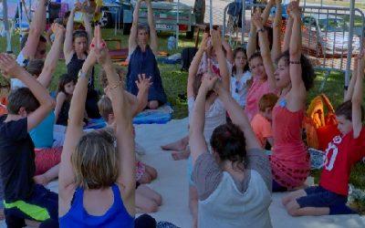 Yoga en famille à Namaste, sam. 21 mars