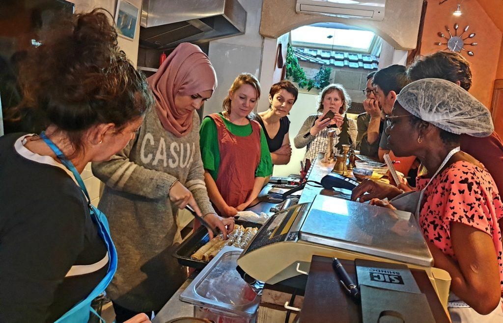 atelier cuisine libanaise du 23 février 2019