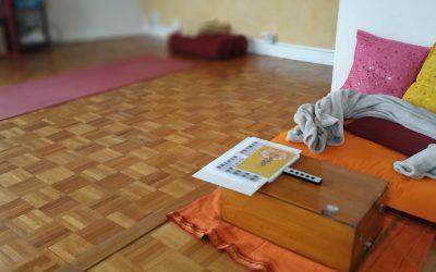 Yoga à distance, nouveau changement planning à partir du lundi 25 mai 2020